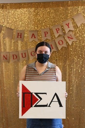 Anjelica Miller, ASU alum and former Delta Theta chapter president of Pi Sigma Alpha