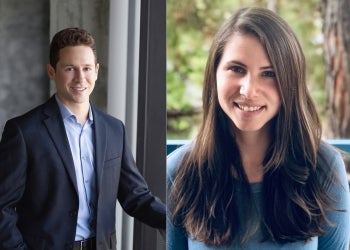 Brandon Nichter and Melanie Hill, ASU alumni, are working on improving mental health and well-being of veterans.