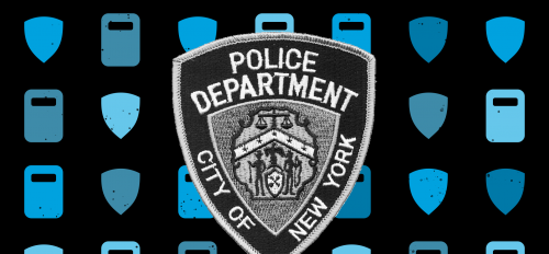graphic of City of New York police badge