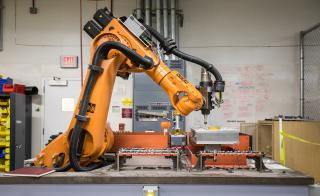 Raytheon robot fixed ASU