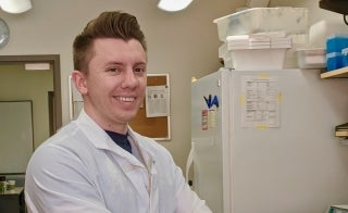 School of Life Sciences graduate student Michael Holter