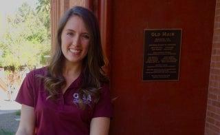 School of Life Sciences graduate Michelle Sullivan Govani