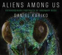Book cover with close up photo of insect on it