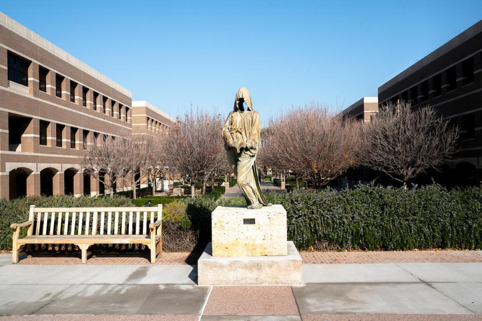 ASU West statue