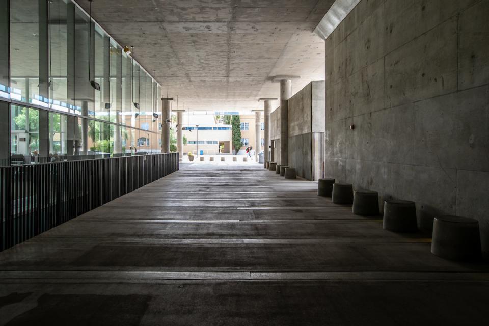 Coolest spot at ASU: Coor Hall breezeway