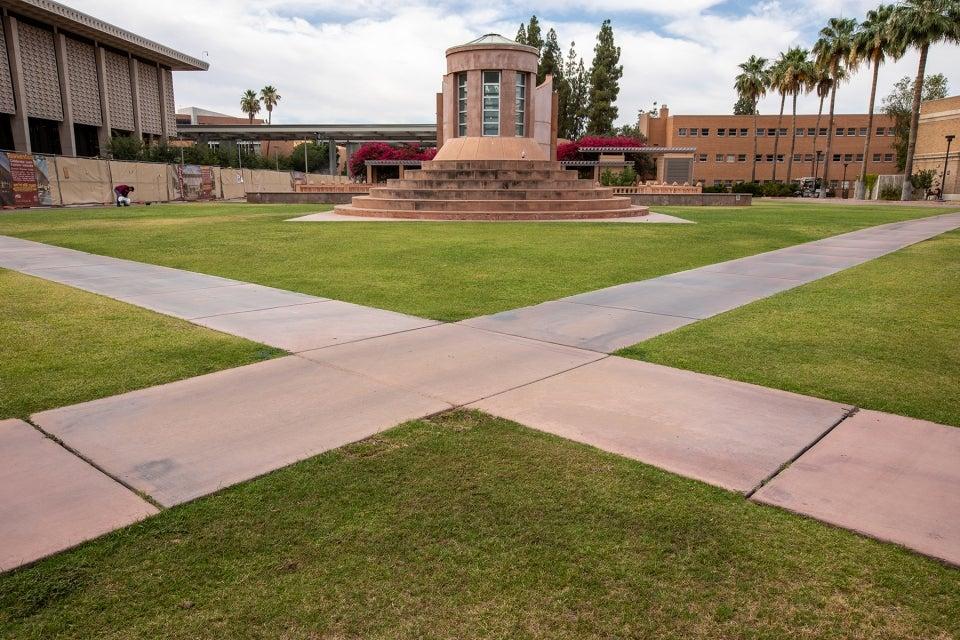 Hottest spot on ASU Tempe campus