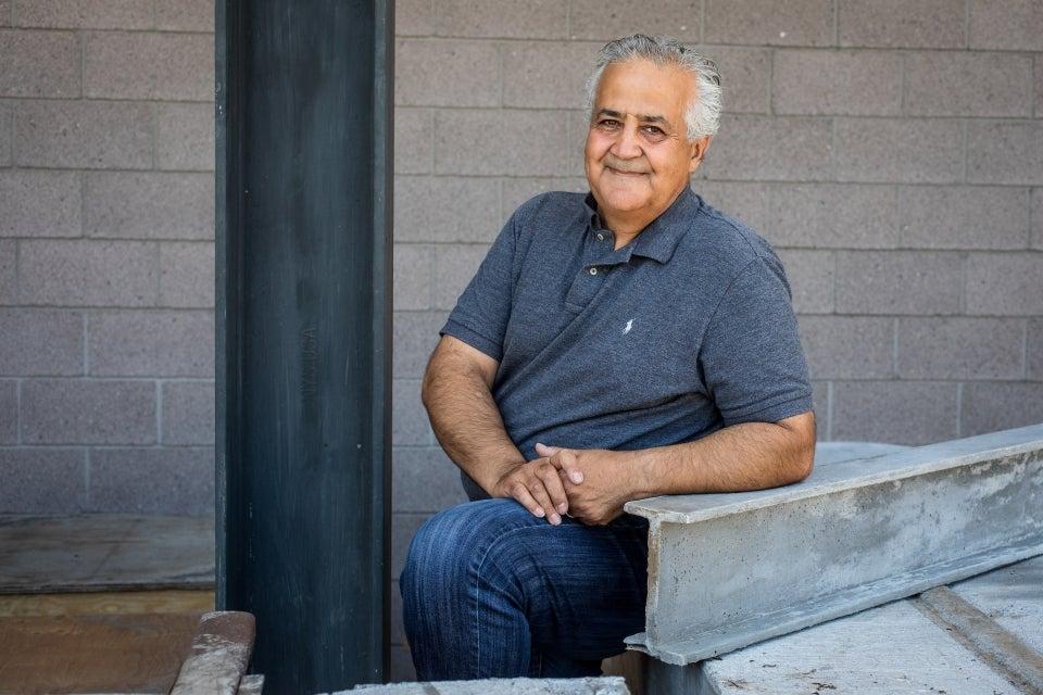 ASU engineering professor Barzin Mobasher
