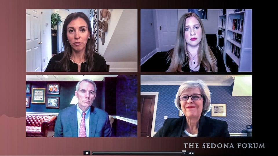 human trafficking panelists