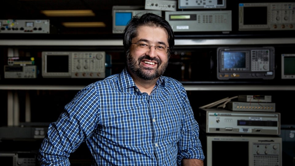 portrait of ASU assistant professor of electrical engineering Mohammadreza Imani