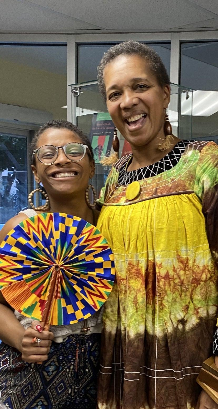 AAAS Associate professor Dr. Lisa Aubrey and Maya Tatum