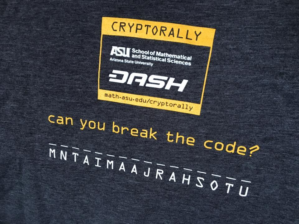 Cryptorally T-shirt