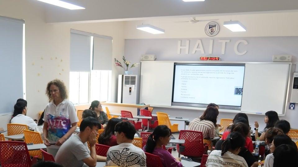 Kathleen Andereck, HAITC, director, associate professor, ASU, Hainan University