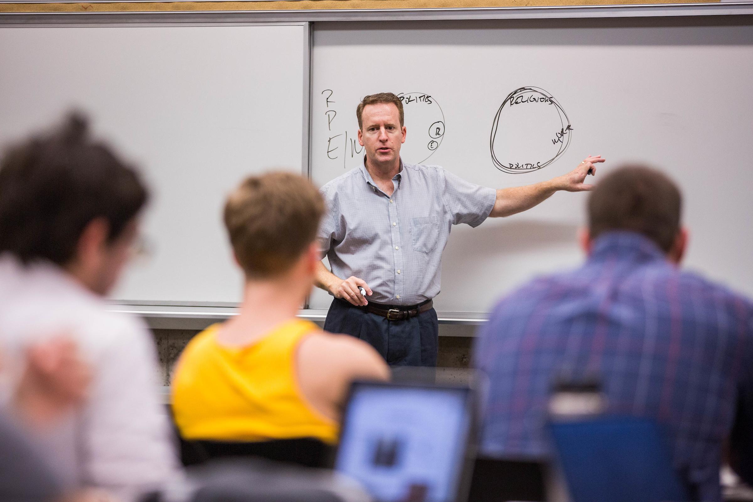 john carlson teaching class