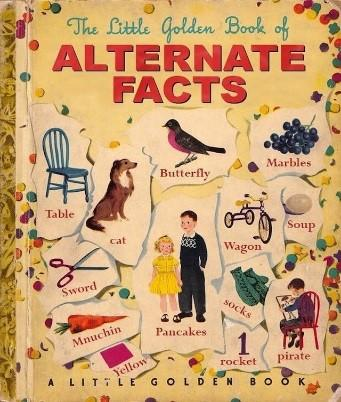 The Little Golden Book of #AlternativeFacts (by Sylvar on Flickr under CC 2.0);