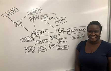 ASU student and Millennium Fellow Paula Kibuka Musok