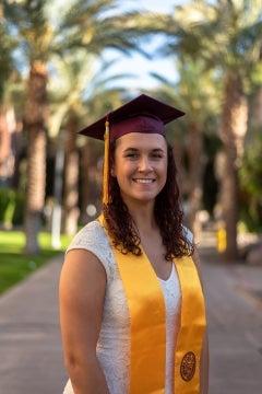 ASU graduate Victoria Froh